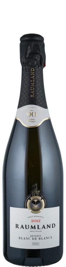 Winzersekt Blanc de Blancs Réserve brut Sekt - traditionelle Flaschengärung 2012  - Raumland