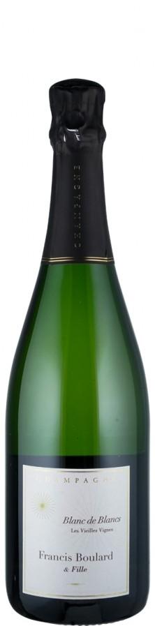 Champagne Blanc de Blancs extra brut Les Vieilles Vignes 2017 Biowein - FR-BIO-001 - Boulard & Fille, Francis