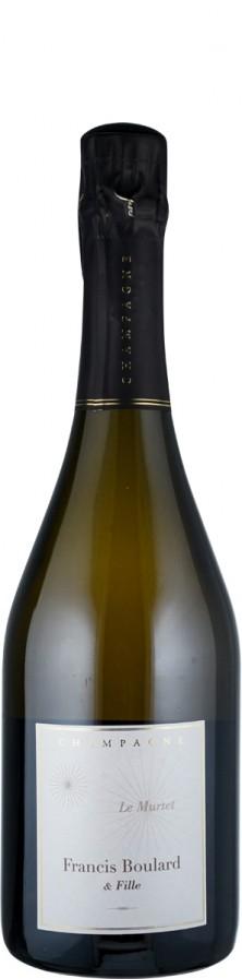Champagne Millésime brut nature Le Murtet 2017 Biowein - FR-BIO-01 - Boulard & Fille, Francis