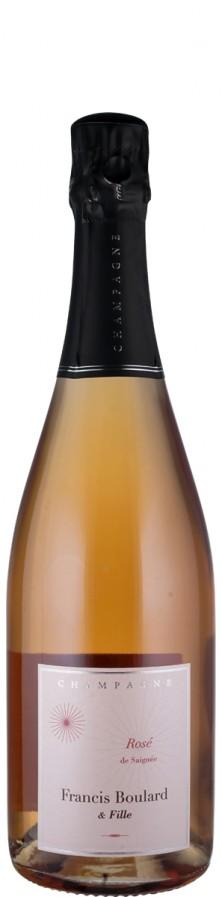 Champagne Millésime Rosé extra brut Rosé de Saignée 2013 Biowein - FR-BIO-001 - Boulard & Fille, Francis