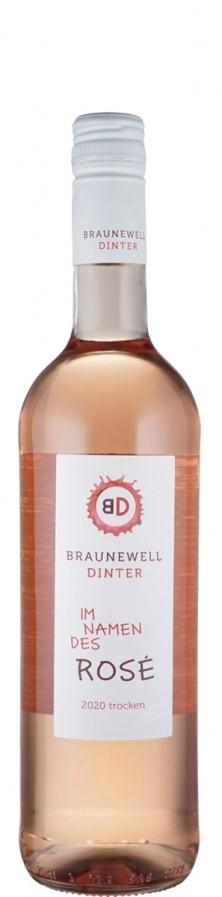 Im Namen des Rosé Braunewell - Dinter 2020  - Braunewell