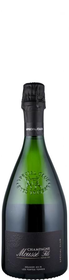 """Champagne Blanc de Noirs extra brut Special Club - Lie Dit """"Les Fortes Terres"""" 2016  - Moussé Fils"""