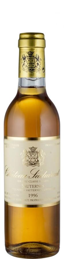 Château Suduiraut Sauternes Premier Cru Classé - halbe Flasche 1996  - Château Suduiraut