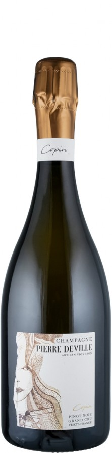 Champagne Grand Cru Blanc de Noirs extra brut Copin Pinot Noir   - Corbeaux, Alban / Deville, Pierre