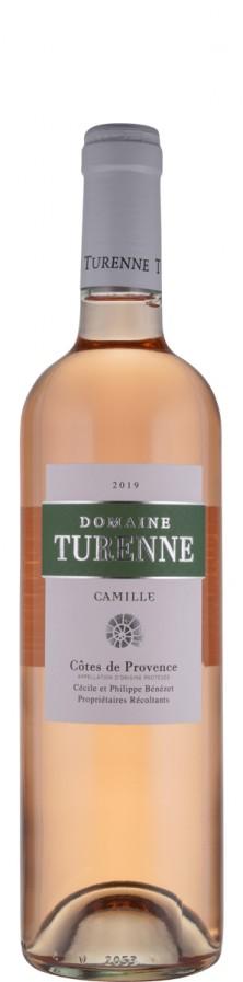 Côtes de Provence Rosé Camille 2020 Biowein - FR-BIO-01 - Domaine Turenne