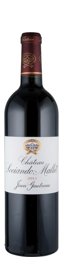 Château Sociando-Mallet - Cru Bourgeois Bordeaux, Haut-Médoc 2013  - Sociando Mallet