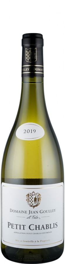 Petit Chablis  2019 Biowein - FR-BIO-01 - Goulley, Jean / Goulley et Fils
