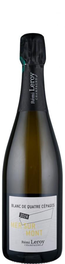 Champagne extra brut Quatre Cepages, Mer sur Mont 2014  - Leroy, Rémi