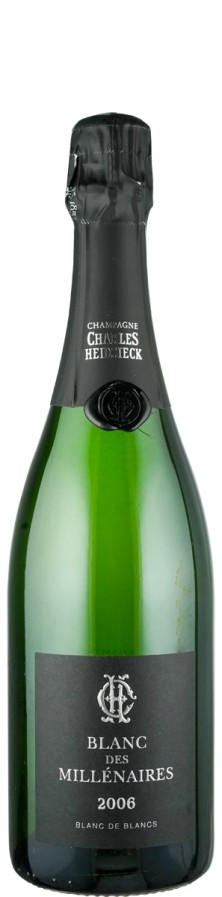Champagne Blanc de Blancs brut Blanc de Millénaires 2006  - Charles Heidsieck