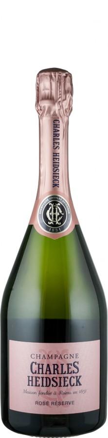 Champagne Rosé Réserve brut    - Charles Heidsieck