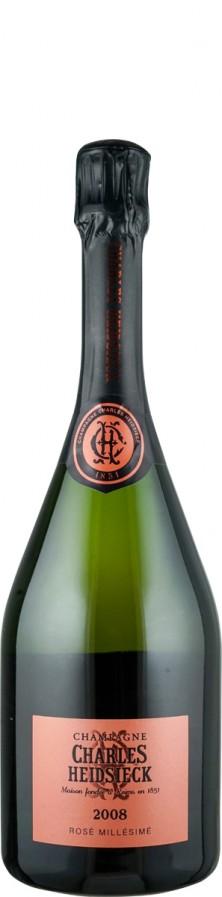 Champagne Rosé brut Millésimé 2008  - Charles Heidsieck