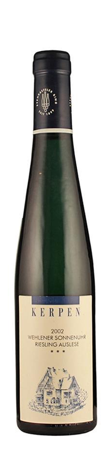 Weingut Kerpen Riesling Auslese *** Wehlener Sonnenuhr - halbe Flasche 2002 süß Mosel Deutschland