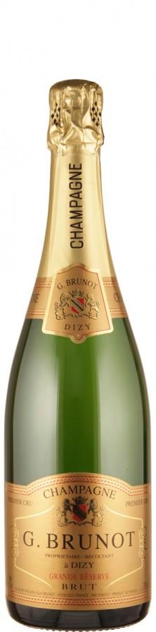 Champagne Premiere Cru brut Grande Réserve   - Brunot, Guy