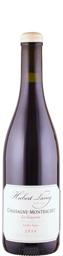 Domaine Hubert Lamy Chassagne-Montrachet Vieilles Vignes La Goujonne 2016 trocken Burgund Côte de Beaune Frankreich