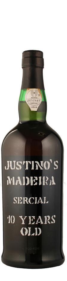 Vinos Justino Henriques Madeira Sercial 10 Years old halbtrocken Madeira Portugal