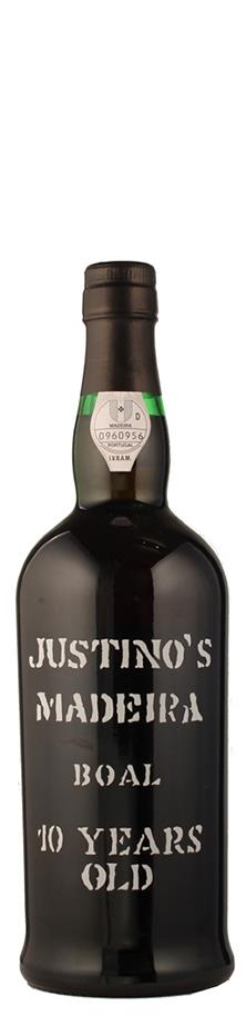 Vinos Justino Henriques Madeira Boal 10 Years old süß Madeira Portugal