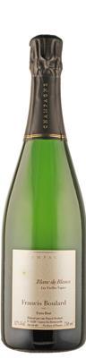 Champagne Blanc de Blancs extra brut Vieilles Vignes  - FR-BIO-01 - Boulard & Fille, Francis