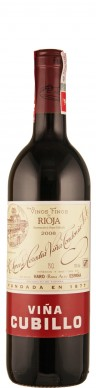 Rioja Crianza tinto Vina Cubillo 2008  - Tondonia - R. López de Heredia Vina Tondonia