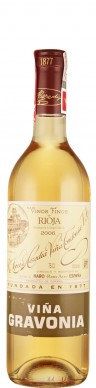 Rioja Crianza blanca Vina Gravonia 2007  - Tondonia - R. López de Heredia Vina Tondonia