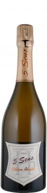 Olivier Horiot Champagne brut nature Cuvée 5 Sens - 5 Cépages 2014 Biowein - FR-BIO-01