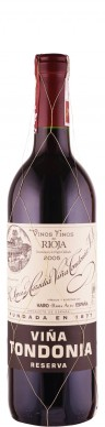 Rioja Reserva tinto Vina Tondonia 2005  - Tondonia - R. López de Heredia Vina Tondonia