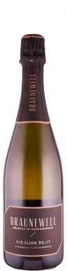 Weingut Braunewell Riesling brut Sekt - traditionelle Flaschengärung 2017