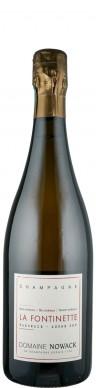 Champagne Blanc de Noirs extra brut La Fontinette   - Domaine Nowack