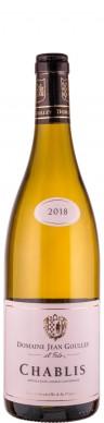 Domaine Jean Goulley Chablis 2018 Biowein - FR-BIO-01