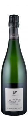 Champagne Moussé Fils Champagne Blanc de Noirs brut nature Les vignes de mon village