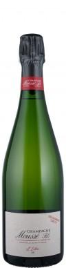 Champagne Moussé Fils Champagne Blanc de Noirs brut nature L'extra 'Or - degorgement tardif