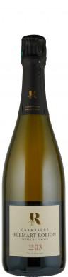 Champagne Elemart Robion Champagne Blanc de Noirs brut nature VB 03  Biowein - FR-BIO-01