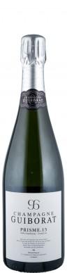 Champagne Guiborat Champagne Grand Cru Blanc de Blancs extra brut Prisme 15