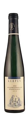 Riesling Auslese *** Wehlener Sonnenuhr - halbe Flasche 2002  - Kerpen