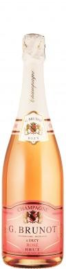 Champagne Rosé brut    - Brunot, Guy