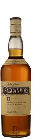 Cragganmore 12 Jahre 40%<br>Cragganmore<br>