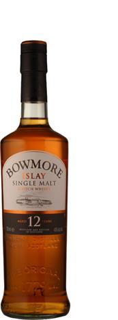 Bowmore 12 Jahre 40%<br>Bowmore<br>