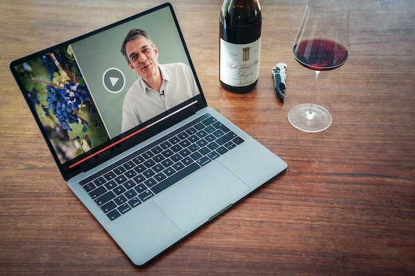 Das Online Wein Training